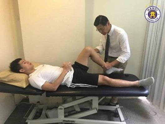 Tin tức mới nhất về tình trạng hồi phục chấn thương của Đình Trọng - Ảnh 1