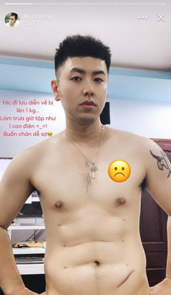 Akira Phan gây xôn xao với thân hình vẫn còn vết dao kéo sau phẫu thuật thẩm mỹ - Ảnh 1