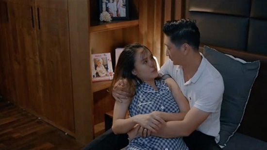 Hoa hồng trên ngực trái tập 11: Dỗ dành tiểu tam rồi về nhà đòi hỏi vợ, Thái nhận phản ứng phũ phàng - Ảnh 4