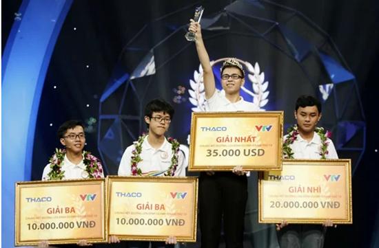 Nam sinh Nghệ An Trần Thế Trung vô địch Đường lên đỉnh Olympia năm thứ 19 - Ảnh 1