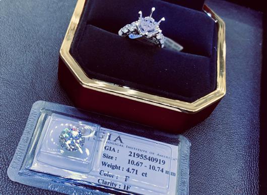 Diễm My được chồng tặng nhẫn kim cương 5 tỷ nhân dịp kỷ niệm ngày cưới - Ảnh 2