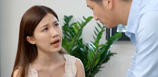 Hoa hồng trên ngực trái tập 13: Khuê hèn mọn cầu xin chồng vì con nhưng Thái không dao động - Ảnh 4