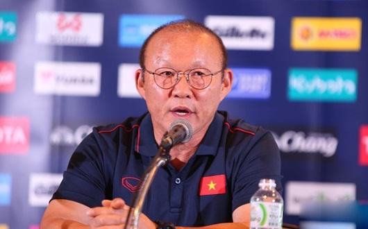 HLV Park Hang-seo lên tiếng yêu cầu phóng viên Thái Lan lịch sự - Ảnh 1