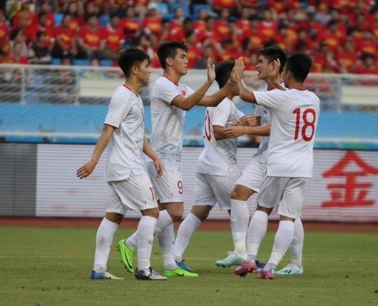 Tiến Linh lập cú đúp, U22 Việt Nam thắng U22 Trung Quốc ngay trên sân khách - Ảnh 1