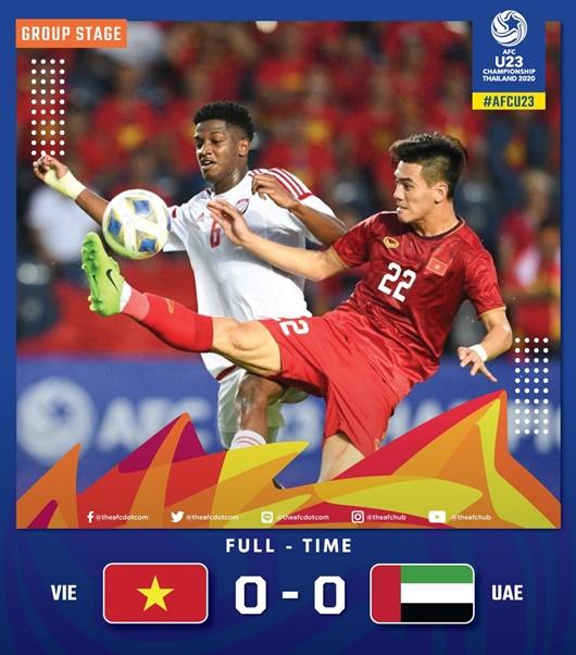 """Tin tức thể thao mới nóng nhất ngày 11/1/2020: CĐV Thái Lan lại """"đá xoáy"""" U23 Việt Nam sau trận hòa UAE - Ảnh 1"""