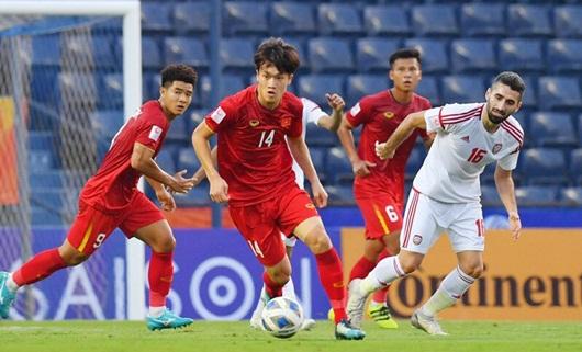 U23 Việt Nam - U23 Jordan (0-0): Nghẹt thở từng phút, hai đội chia điểm - Ảnh 3