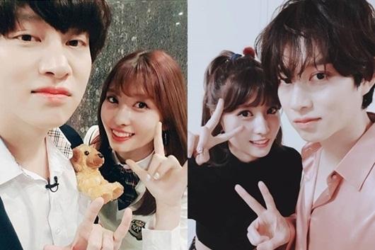 """Heechul và Momo trở thành """"cặp đôi ngày mùng 1"""" của showbiz Hàn - Ảnh 2"""