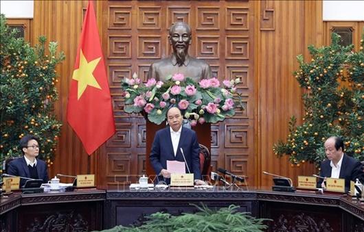 Thủ tướng chủ trì cuộc họp khẩn phòng, chống dịch bệnh do vi rút Corona - Ảnh 1