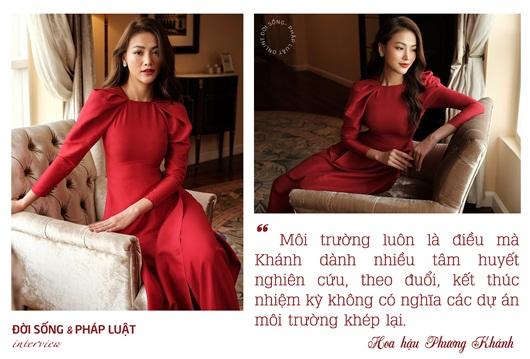 Miss Earth Phương Khánh: Kết thúc nhiệm kỳ không có nghĩa các dự án môi trường khép lại - Ảnh 1