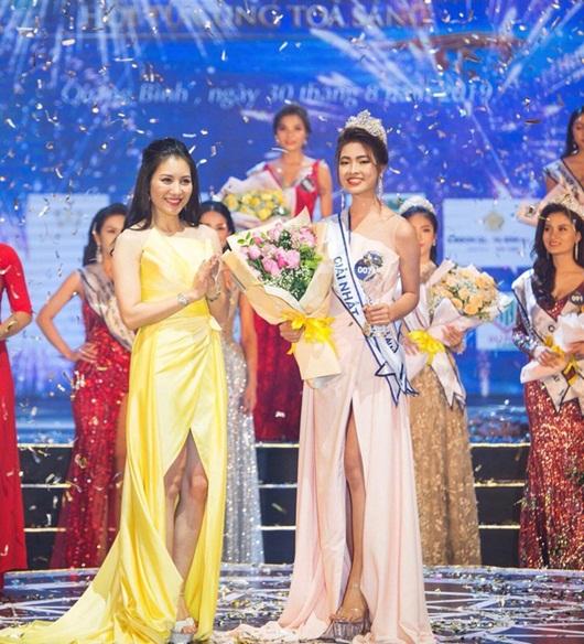 Ngọc Huyền gửi đơn khiếu nại sau khi bị tước danh hiệu Người đẹp Du lịch Quảng Bình 2019 - Ảnh 1