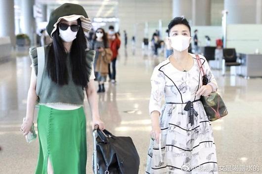 Bộ trang phục chỉ Phạm Băng Băng mới dám mặc ra đường - Ảnh 1