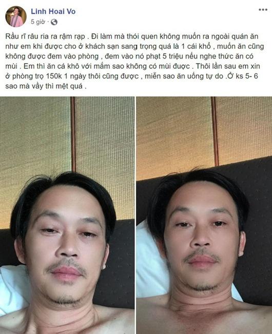 """Tin tức giải trí mới nhất ngày 14/10/2020: Lý do khiến Hoài Linh kêu """"khổ"""" dù ở khách sạn 5 sao - Ảnh 1"""