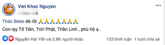 """Vợ Khắc Việt sinh đôi con đầu lòng, nhận """"cơn mưa"""" lời chúc của dàn sao Việt - Ảnh 1"""