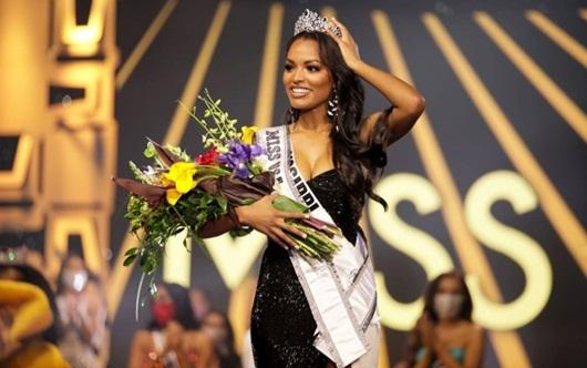 Nhan sắc và đời tư nhiều góc khuất của nữ sinh ngành báo chí đăng quang Hoa hậu Mỹ - Ảnh 3