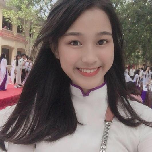 Hé lộ ảnh thời trung học của tân Hoa hậu Việt Nam Đỗ Thị Hà - Ảnh 2