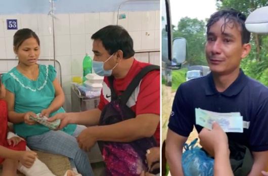 """Tin tức giải trí mới nhất ngày 4/11: MC Quyền Linh hỗ trợ gia đình người đàn ông """"đi nhờ xe, không cần tiền"""" - Ảnh 1"""