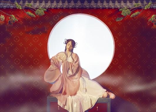 Quỳnh Nga chán mặc gợi cảm, chuyển sang phong cách cổ trang hóa tiên nữ giáng trần - Ảnh 1
