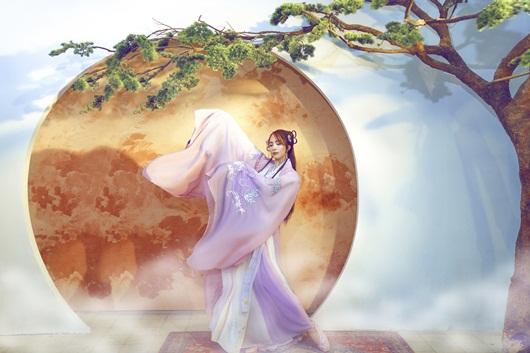 Quỳnh Nga chán mặc gợi cảm, chuyển sang phong cách cổ trang hóa tiên nữ giáng trần - Ảnh 7