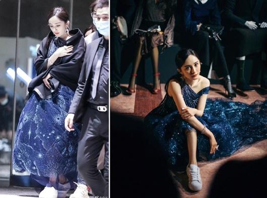 Sao nữ Hoa ngữ đi giày thể thao lên thảm đỏ: Người được khen, kẻ bị chê tơi tả - Ảnh 6