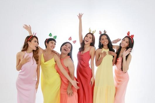 """Minh Tú chụp bộ ảnh """"cây nhà lá vườn"""" cùng dàn người đẹp chuyển giới dịp Giáng sinh - Ảnh 3"""