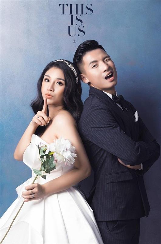 Trọn bộ ảnh cưới đẹp như mơ của trung vệ Bùi Tiến Dũng và cô dâu Khánh Linh - Ảnh 2