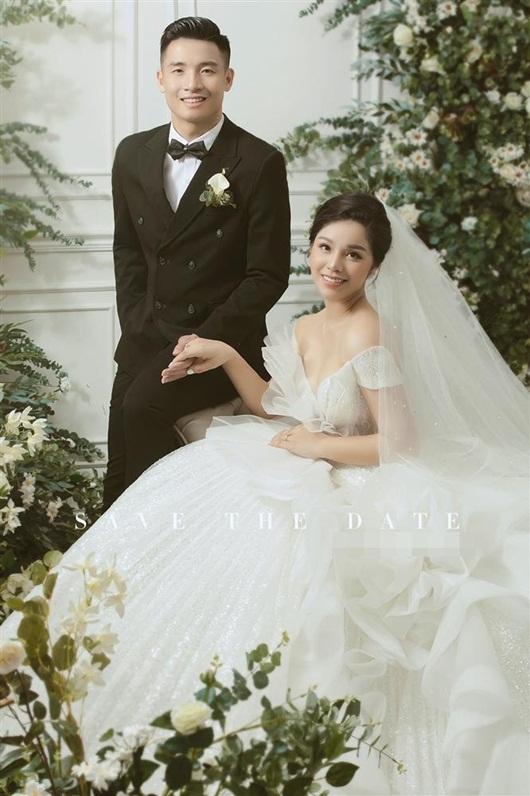 Trọn bộ ảnh cưới đẹp như mơ của trung vệ Bùi Tiến Dũng và cô dâu Khánh Linh - Ảnh 5
