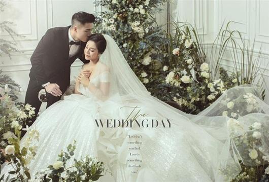 Trọn bộ ảnh cưới đẹp như mơ của trung vệ Bùi Tiến Dũng và cô dâu Khánh Linh - Ảnh 6