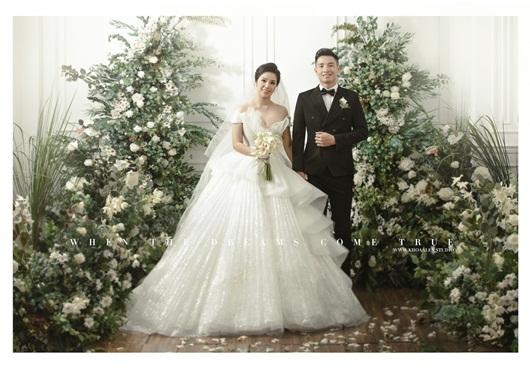 Trọn bộ ảnh cưới đẹp như mơ của trung vệ Bùi Tiến Dũng và cô dâu Khánh Linh - Ảnh 7