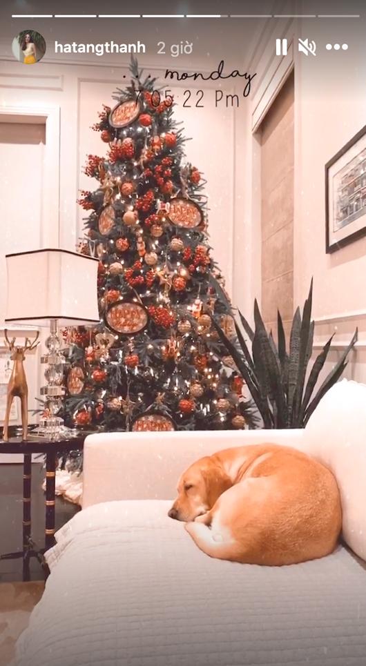 Tăng Thanh Hà hé lộ không gian Giáng sinh vừa ấm áp vừa đúng chất giàu sang quyền quý - Ảnh 3
