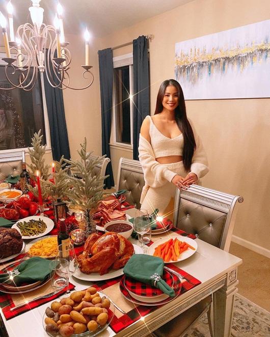 Tăng Thanh Hà hé lộ không gian Giáng sinh vừa ấm áp vừa đúng chất giàu sang quyền quý - Ảnh 4