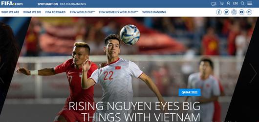 """Tiến Linh xuất hiện trên trang chủ FIFA, được gọi là """"ngôi sao đang lên"""" - Ảnh 1"""