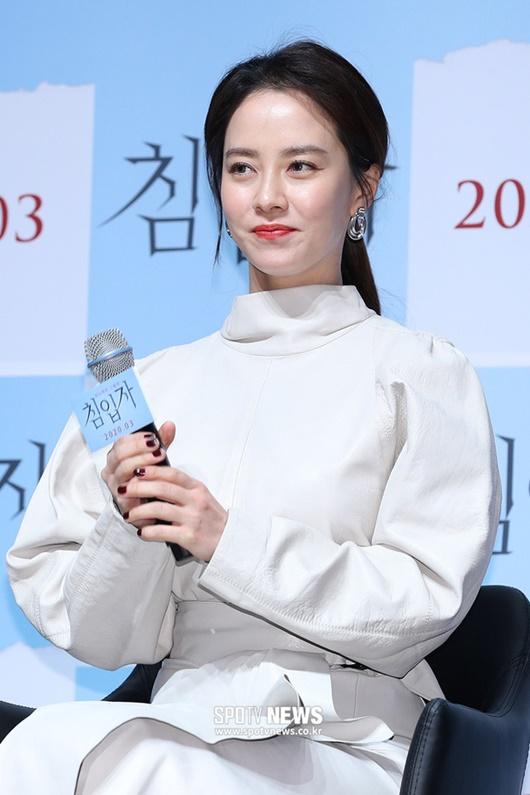 """Nhan sắc """"gây sửng sốt"""" ở tuổi 38 của """"mợ ngố"""" Song Ji Hyo - Ảnh 5"""