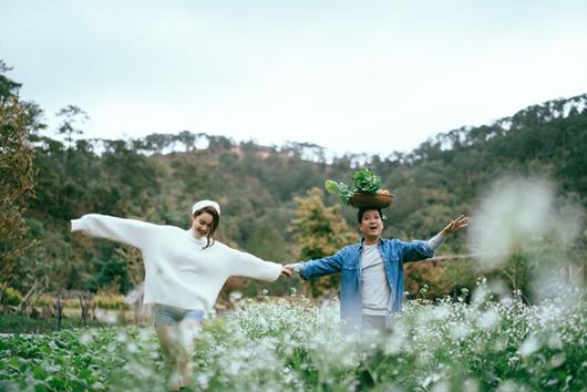 """Trường Giang - Nhã Phương tung bộ ảnh lãng mạn, ấm áp đúng chuẩn """"Valentine trong mơ"""" - Ảnh 4"""