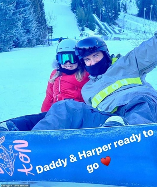 Hành động của Beckham chứng minh bé Harper đích thực là nàng công chúa của gia đình - Ảnh 2