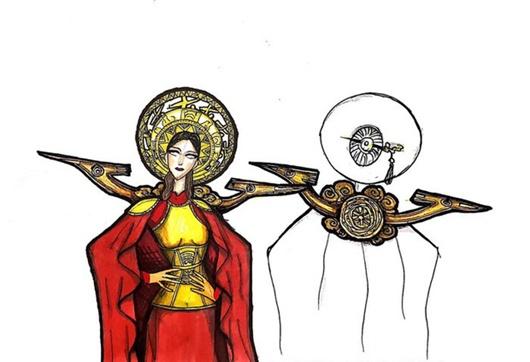 Quốc phục đỏ rực, đầy quyền lực của Hoài Sa ở Hoa hậu Chuyển giới Quốc tế 2020 - Ảnh 6