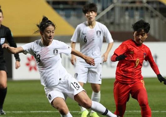 Tuyển nữ Việt Nam rộng cửa đi tiếp tại vòng loại Olympic sau khi nhận tin vui từ đối thủ - Ảnh 1