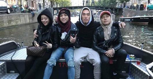 """Cư dân mạng """"soi"""" loạt bằng chứng hẹn hò khó chối cãi của Soobin Hoàng Sơn và bạn gái - Ảnh 6"""