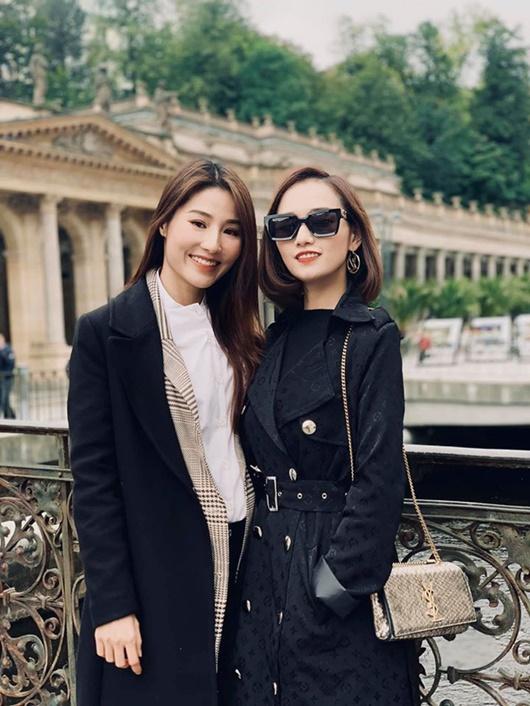 """Ảnh hậu trường đẹp như chụp họa báo của Diễm My 9X, Lã Thanh Huyền ở phim """"Tình yêu và tham vọng"""" - Ảnh 4"""