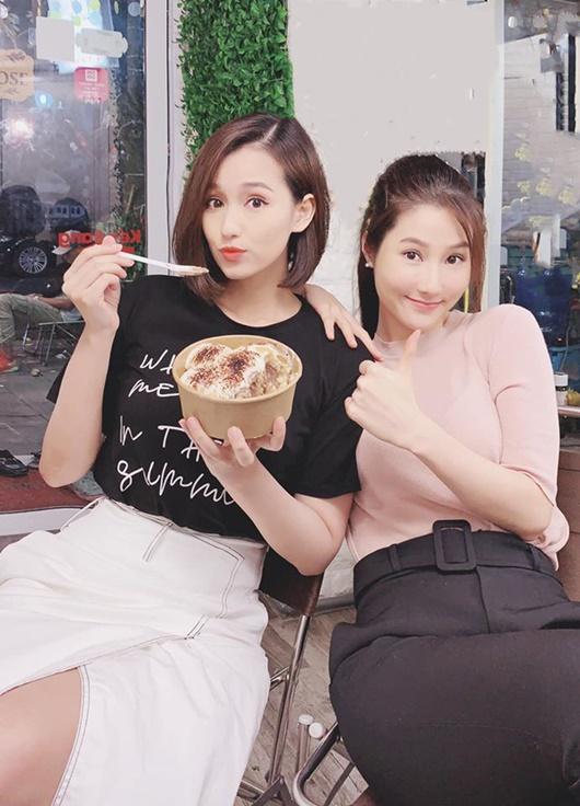 """Ảnh hậu trường đẹp như chụp họa báo của Diễm My 9X, Lã Thanh Huyền ở phim """"Tình yêu và tham vọng"""" - Ảnh 9"""