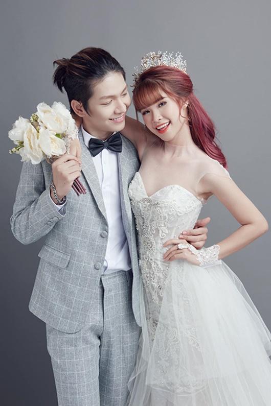 Sau gần 3 năm kết hôn, Khởi My - Kelvin Khánh lần đầu khoe ảnh cưới - Ảnh 2