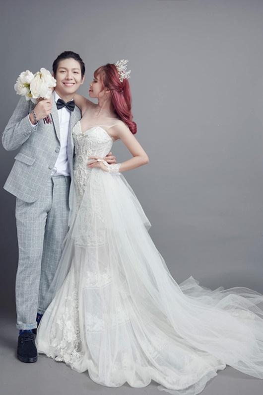Sau gần 3 năm kết hôn, Khởi My - Kelvin Khánh lần đầu khoe ảnh cưới - Ảnh 4