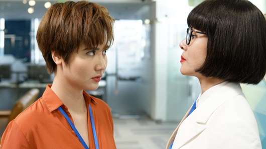 """Sự thật về tạo hình khác lạ của Diễm Hương trong """"Tình yêu và tham vọng"""" - Ảnh 3"""