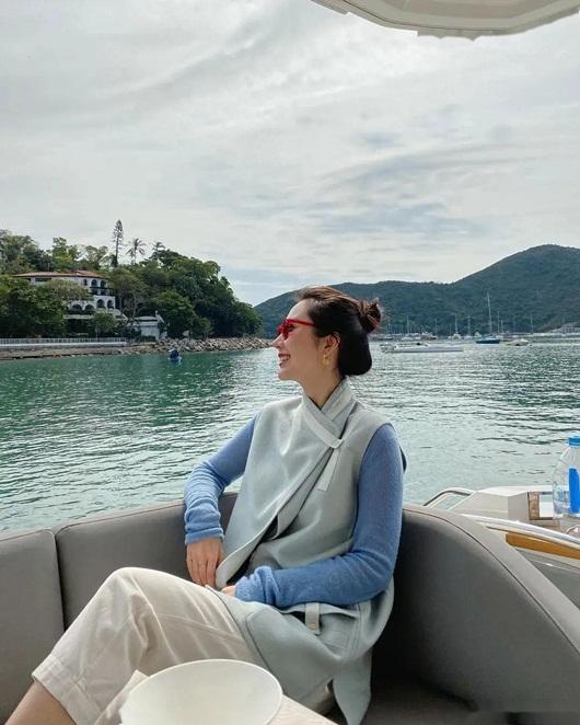 Cuộc sống sang chảnh, du lịch khắp nơi của vợ chủ tịch Taobao trước khi phát hiện chồng ngoại tình - Ảnh 6