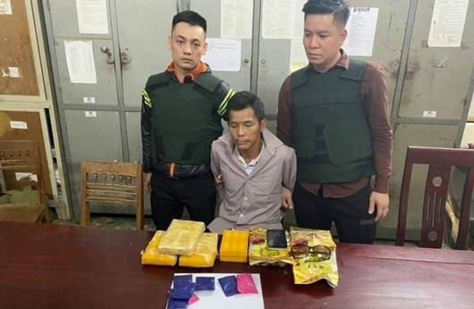 Nghệ An: Bắt thầy giáo buôn ma túy với số lượng lớn - Ảnh 1