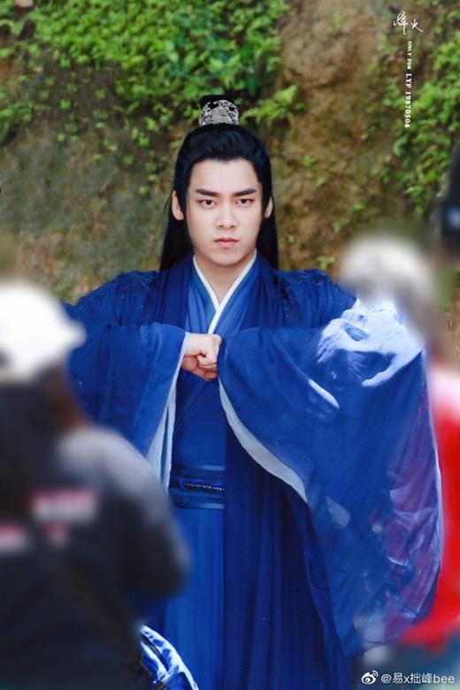 """Lý Dịch Phong lần đầu lộ ảnh trong """"Kính Song Thành"""": Tạo hình tiên khí, đẹp trai """"ngút ngàn"""" khiến fan mê mệt - Ảnh 5"""