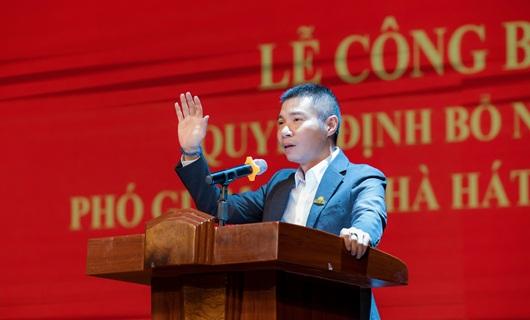 NSND Công Lý nhận chức Phó Giám đốc nhà hát Kịch Hà Nội - Ảnh 2