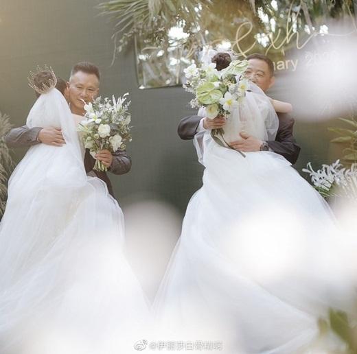 """Lễ cưới đồng tính đẹp như cổ tích của học trò """"Mai Siêu Phong"""" khiến dân mạng Cbiz xôn xao - Ảnh 5"""