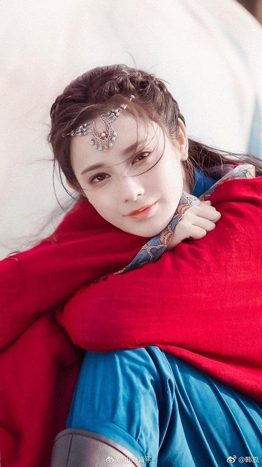 """Top mỹ nhân cổ trang Hoa ngữ: Bành Tiểu Nhiễm - Nhớ mãi """"hồng y nữ tử"""" Tiểu Phong mùa hè năm ấy - Ảnh 3"""