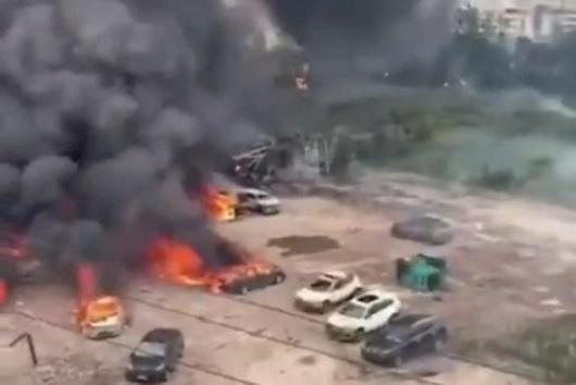 Trung Quốc: Nổ xe bồn khiến 4 người thiệt mạng, hơn 50 người bị thương - Ảnh 1