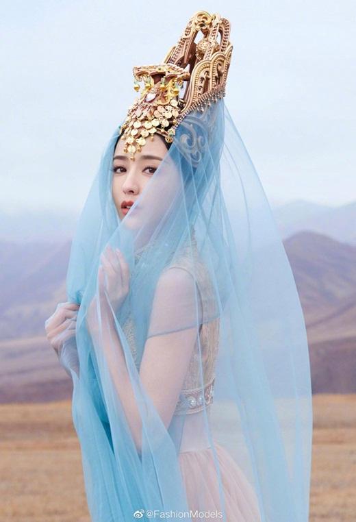 """Top mỹ nhân cổ trang Hoa ngữ: Đồng Lệ Á - Người đẹp Tân Cương duy nhất khiến công chúng biết thế nào là """"phong hoa tuyệt đại"""" - Ảnh 16"""